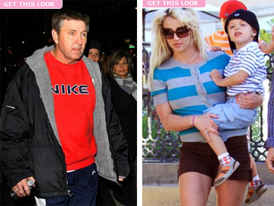 Бритни Спирс и ее отец