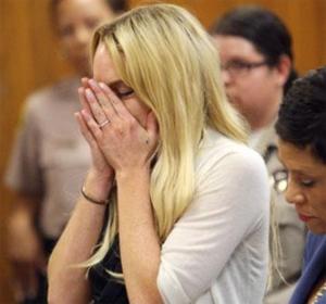 Линдси Лохан в тюрьме